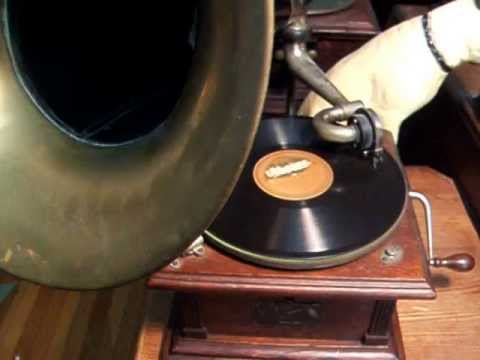 Run away Slave Song - Sung by Chubby Parker with his old time Banjo - 1927  Silvertone Record