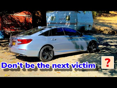 WHAT are thieves targeting in the 9th and 10th generation Honda Accord?