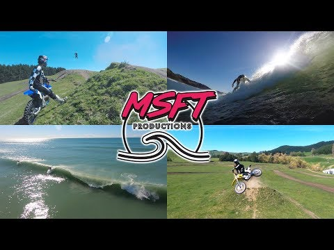 Surf One Day - Moto the Next | Missions With MSFT Productions