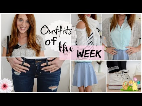 Sommer Outfits Für Die Schule 2014 Outfits Of The Week Deutsch