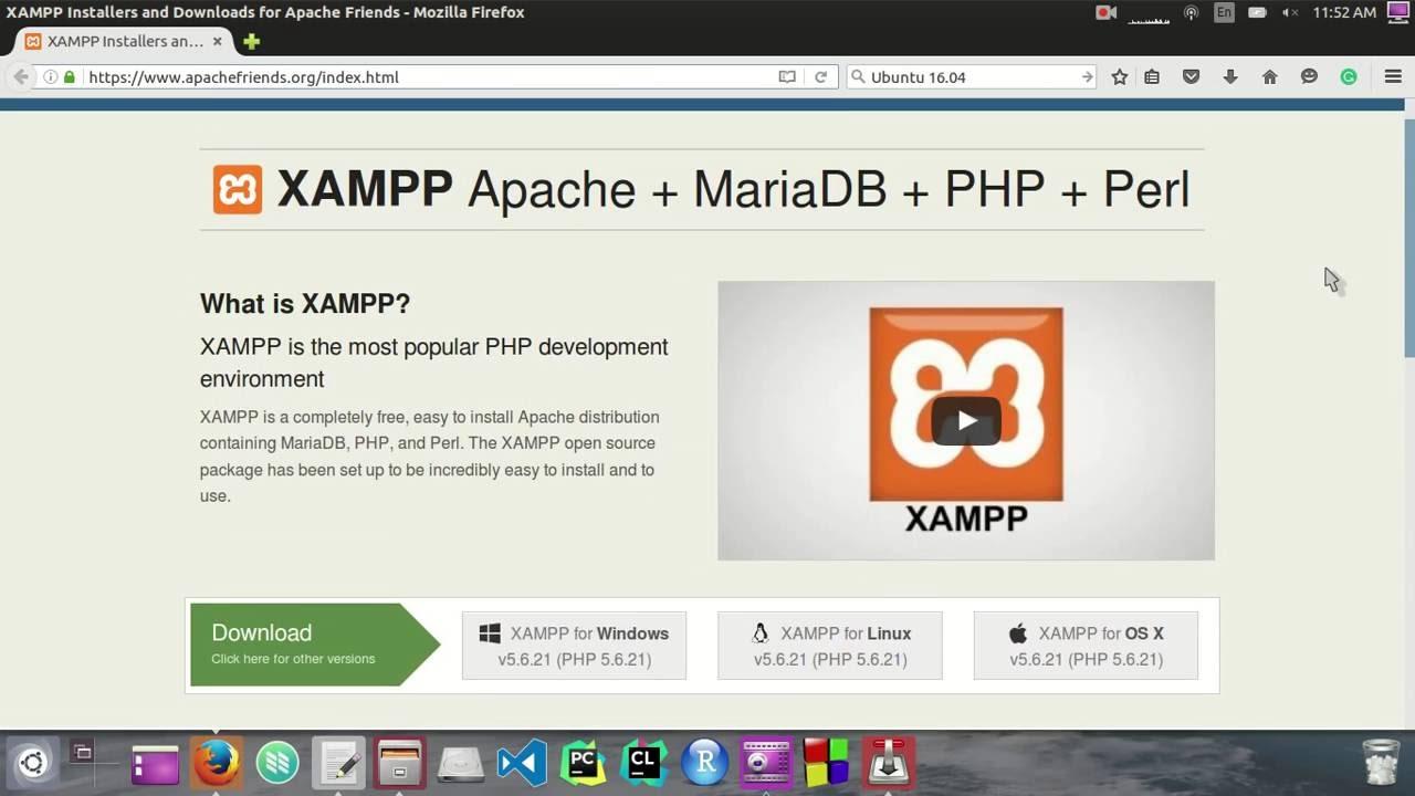 xampp ubuntu
