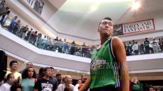 Asian Dunking Sensation Sherman Su @ NBA Sprite Slam Dunk Contest feat. Clyde Drexler