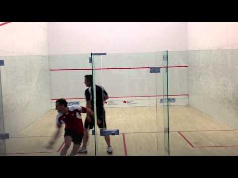 Squash MAA Robert Hofer - Pierre Boucher - 29 May 2012