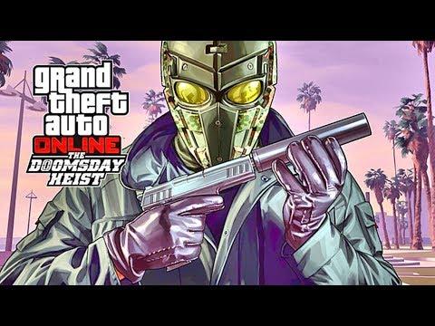 GTA 5 - THE DOOMSDAY HEIST!! (GTA 5 Online Heists) PART 6 #NOSLEEP