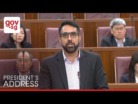 Excerpts from MP Pritam Singh's speech to the President's Address 2018