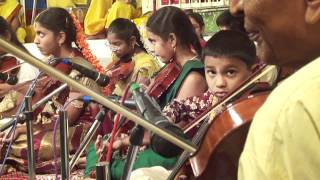 Janta swaras on violin
