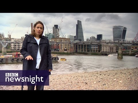 What would Brexit mean for the City and finance? BBC Newsnight