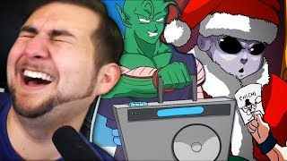 ALL OF THE SSJ9K VIDEOS!! | Kaggy Reacts to Santa Jiren & Kami VS Piccolo Rap Battle