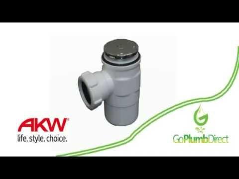 AKW - 50mm Standard Gravity Waste - GW50 - 25126