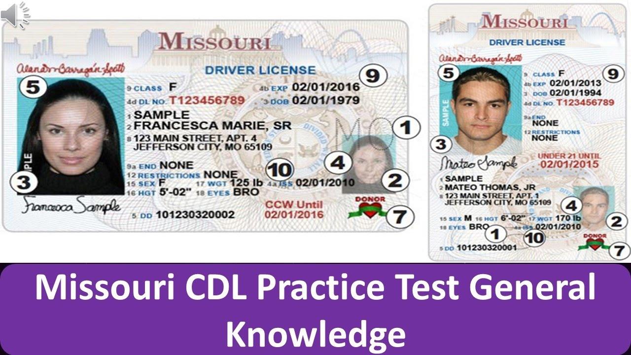 class e drivers license missouri