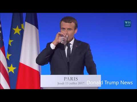 President Trump Joint Press Conference with President Macron