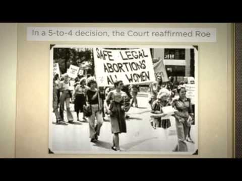 essay on planned parenthood v casey Planned parenthood v casey (1992)almost ten years after the landmark decision in roe v wade (1973) the battle over abortion was still being waged the reproductive.
