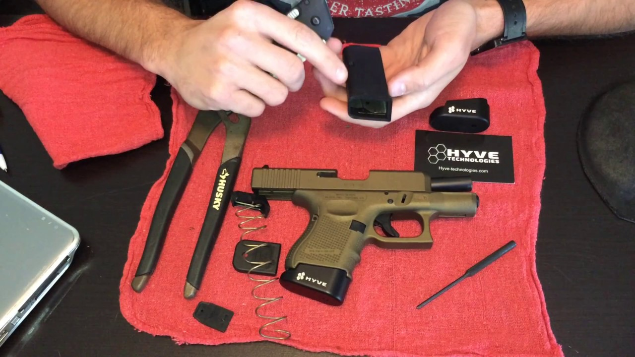 Glock 26 Install Review Hyve Technologies 3 Base Plate Youtube