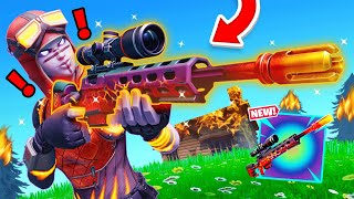 New *EXOTIC* DRAGON'S BREATH Sniper in Fortnite! (Overpowered)