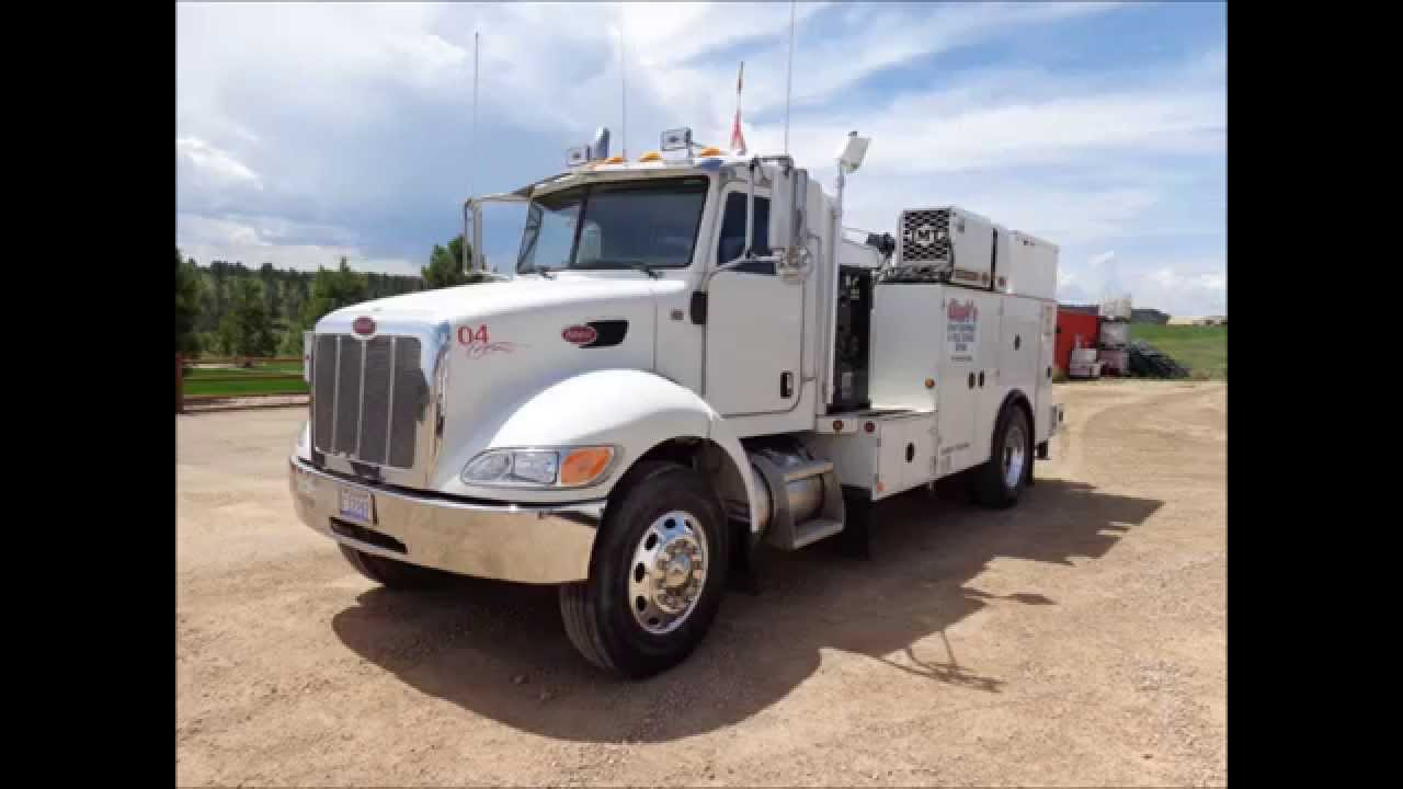 Peterbilt Truck For Sale >> Peterbilt 2007 Field Service Truck - YouTube
