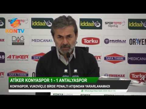 Atiker Konyaspor 1 -1 Antalyaspor