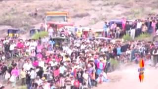 reportaje provincia Santa Cruz - cajamarca  2011- carrera de motos (canto al peru)