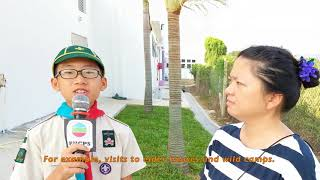 phcps的ECA Extra curriculum activity promotion - Boy Scout相片