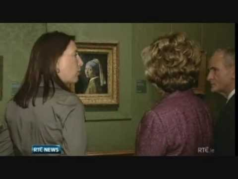 Mary McAleese meets with Queen Beatrix of the Netherlands