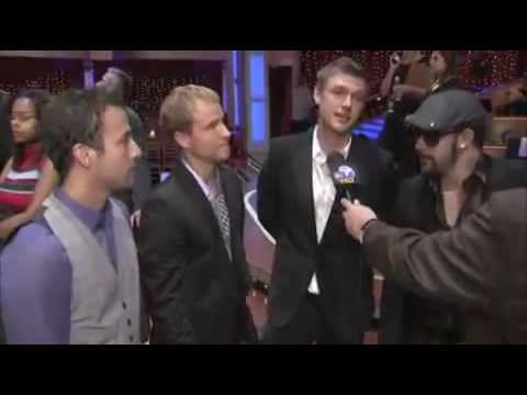 BackStreet Boys Interview About Aaron Carter In Dancing With The Stars