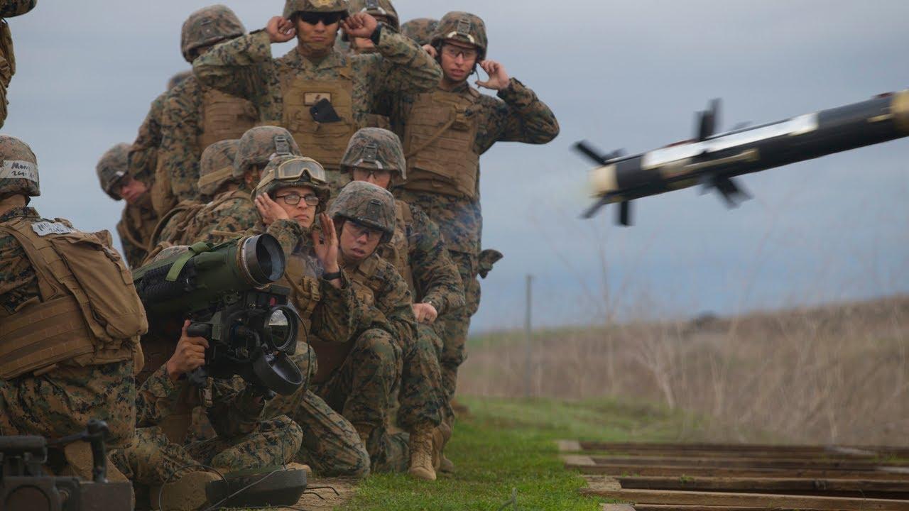 US Military News • Infantry Marine Course • 2nd Week • Camp Pendleton • California, Feb 4 2021