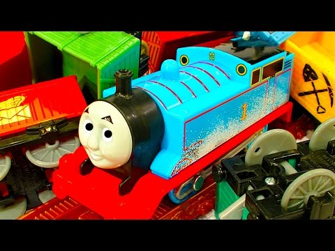 Thomas Trackmaster Snowy Mountains Rescue Toy Review, Repair & Train Wreck