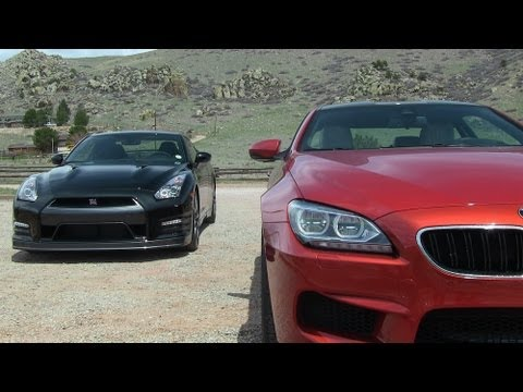 2014 Nissan Gt R Vs Bmw M6 0 60 Mph Mile High Mashup Review Youtube