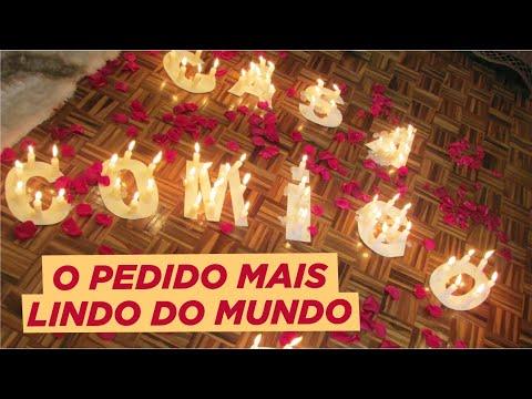 PEDIDO DE CASAMENTO SURPRESA - CAÇA AO TESOURO