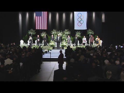 FULL VIDEO - Muhammad Ali Memorial Service...
