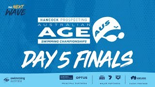 Day 5 Finals - 2019 Australian Age Championships