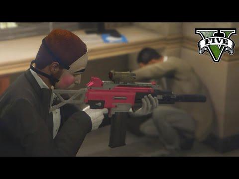The Bank Heist [GTA V Rockstar Editor]