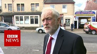 Corbyn 'shocked and appalled' by attack - BBC News