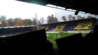 MOL CUP Osmifinále 2016/17 SFC Opava- FC Viktoria Plzeň.  CHOREO