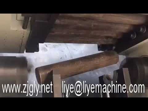 Steel rods solid bar chamfering machine, double head tube chamfering deburring machine