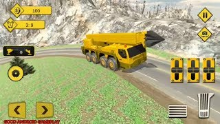 Tunnel Construction Crane Simulator 2018 | by Heavy Gamers | Android Gameplay FHD