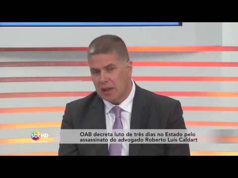 Advogado Roberto Luís Caldart é morto durante suposta reintegração de posse em Palhoça