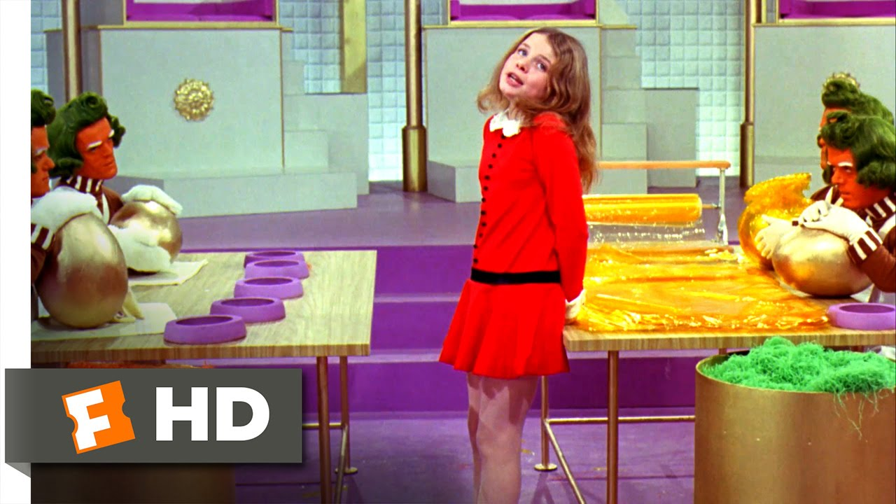 willy wonka the chocolate factory i want it now scene  willy wonka the chocolate factory i want it now scene 8 10 movieclips