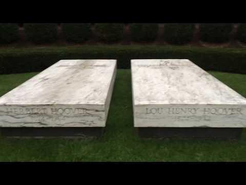 Presidential gravesites: Herbert Hoover