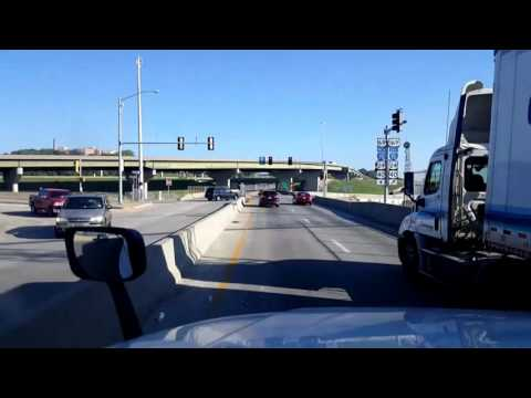 Bigrigtravels Live! Kansas City, Kansas to St Joseph, Missou