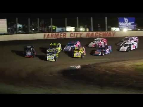 DIRTcar Summer Nationals Modifieds Farmer City Raceway July 6th, 2018 | HIGHLIGHTS