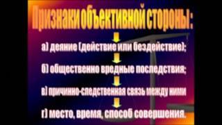 видео Юридические признаки административной ответственности