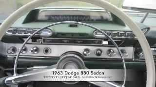 South Beach Classics 1963 Dodge 880 Sedan