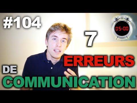 7 erreurs de communication - WakeUpCalls #104