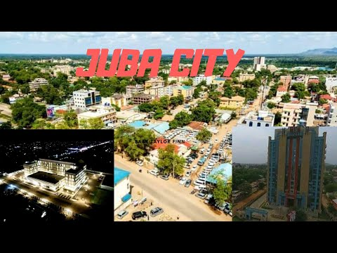 Beauty of Juba city 🇸🇸 from above (Aerial views) 2020 | South Sudan tour videos| Junub tv