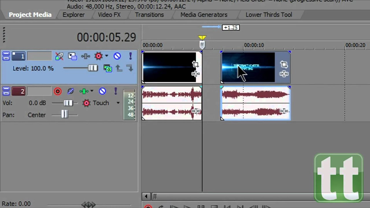 how to cut in sony vegas pro 15