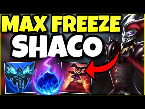 THIS SHACO BUILD HAS A 60% WINRATE IN CHALLENGER?! THE NEW EVERFROST SHACO SUPPORT IS GOD-TIER