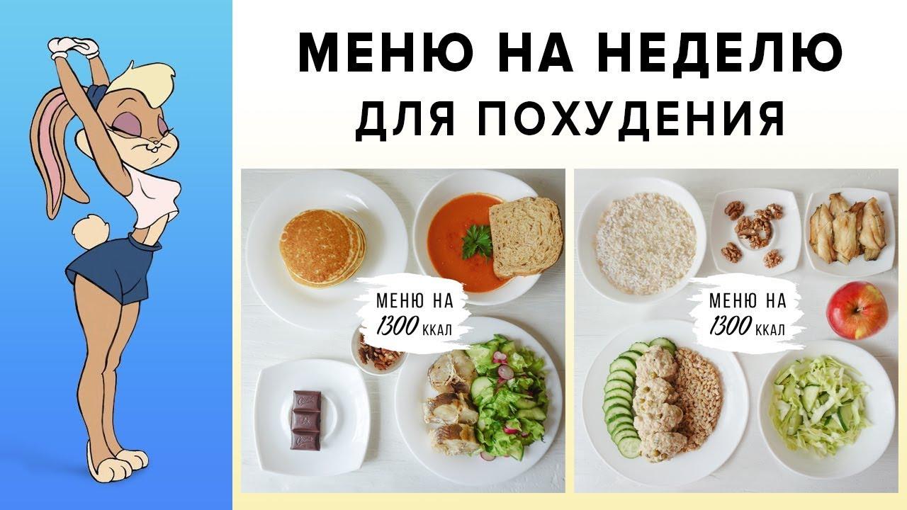 правильное питание для похудения подростку