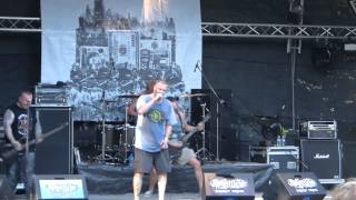 Born From Pain / Live Set / 27.07.13 Riez Open Air, Germany