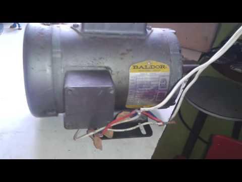 7.5 hp baldor motor capacitor wiring diagram