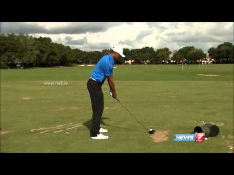 Tiger Woods New Swing with Coach Chris Como SlowMo